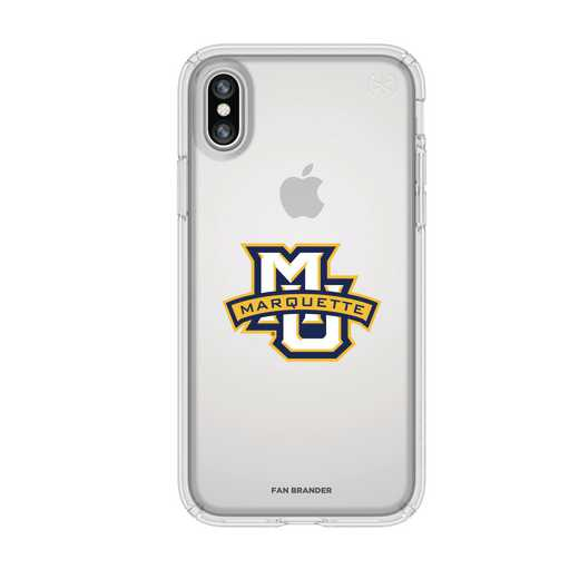 IPH-X-CL-PRE-MAQ-D101: FB Marquette iPhone X Presidio Clear